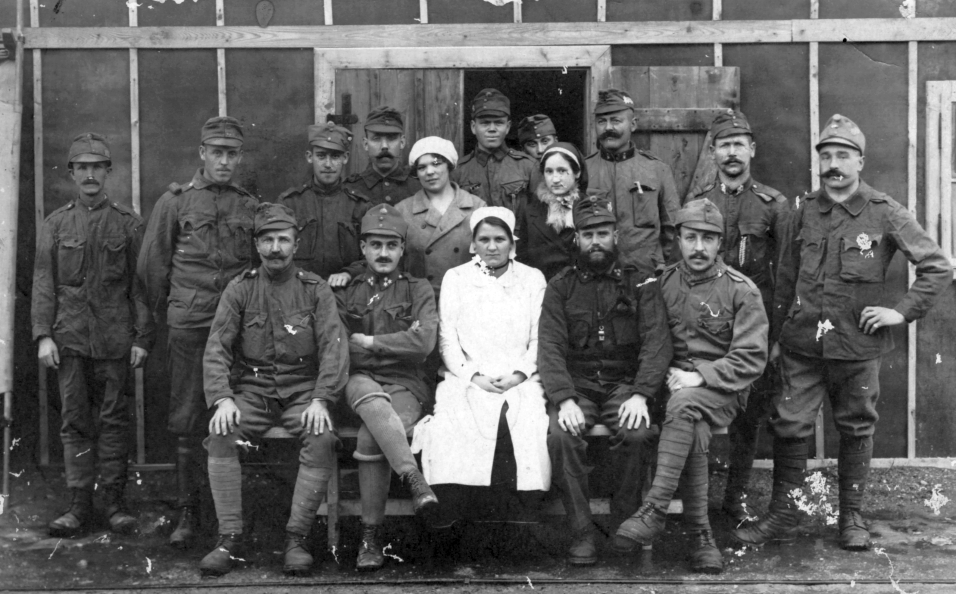 Enjoyable File Tableau Soldier First World War Nurse Puttee Download Free Architecture Designs Meptaeticmadebymaigaardcom