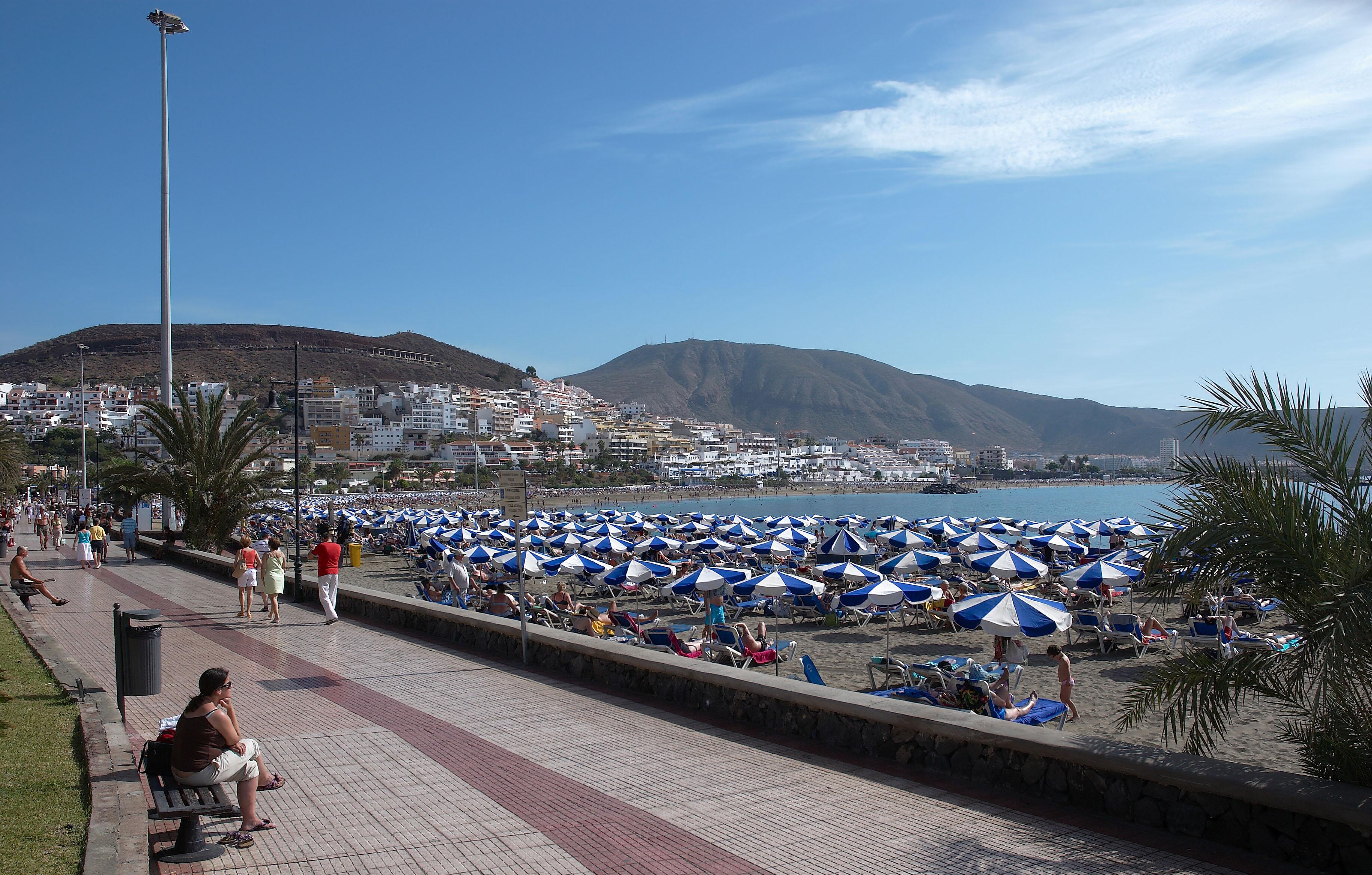 FileTenerife cristianos beach Bjpg Wikimedia Commons