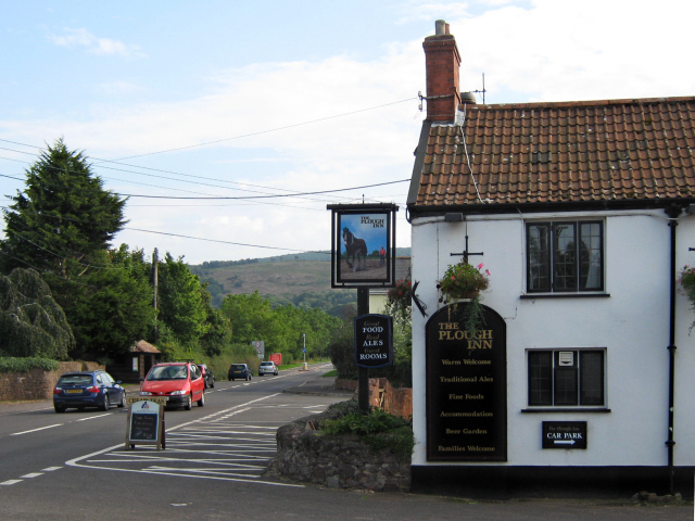 The Plough Inn, Holford - geograph.org.uk - 2052040