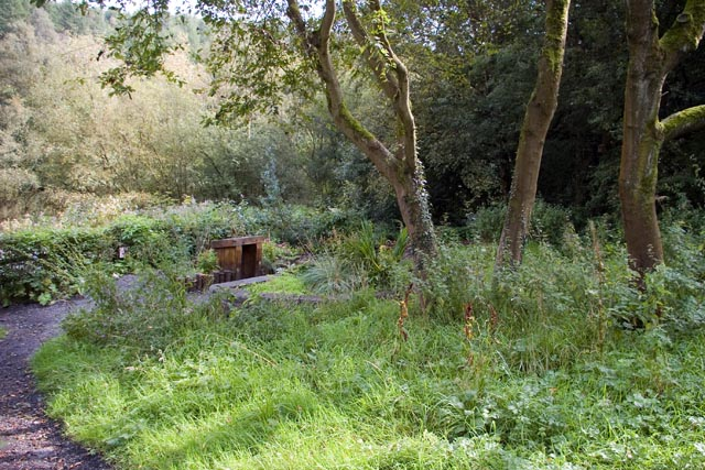 The sensory and wildlife garden, Etherow Country Park - geograph.org.uk - 993953