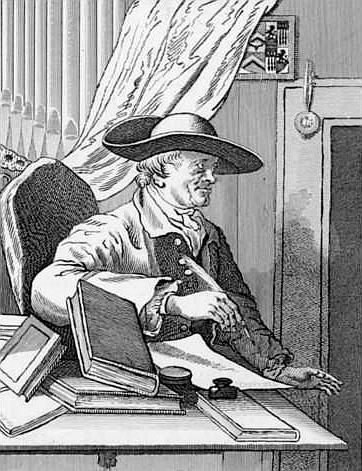 Thomas Morell, 1763 engraving by [[James Basire