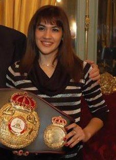 Marcela Acuña Argentine boxer