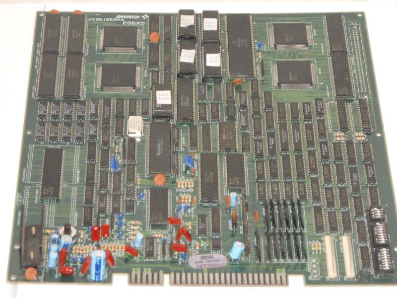 TMNT arcade PCB