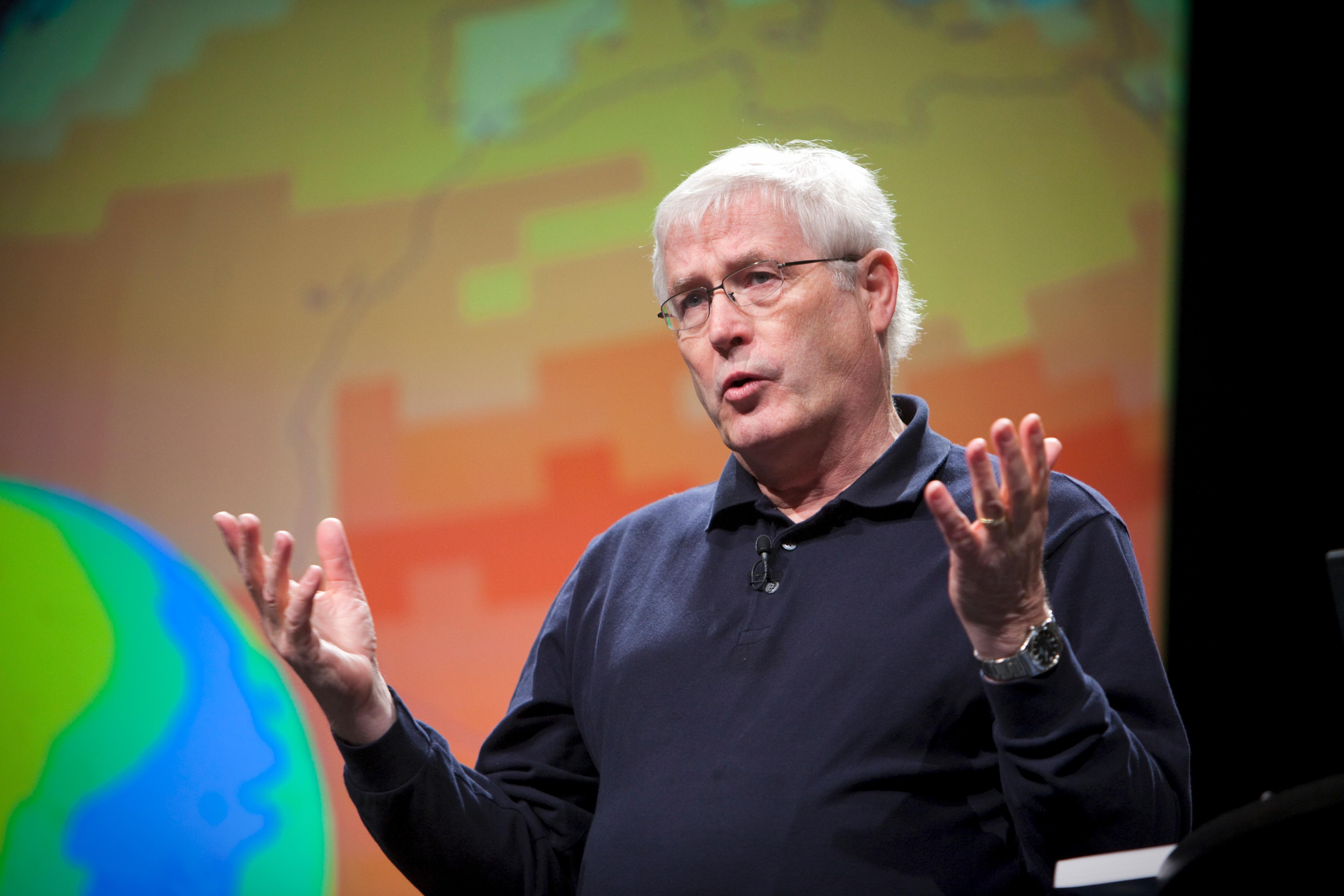 Tony Hey talking at Pop!Tech 2009