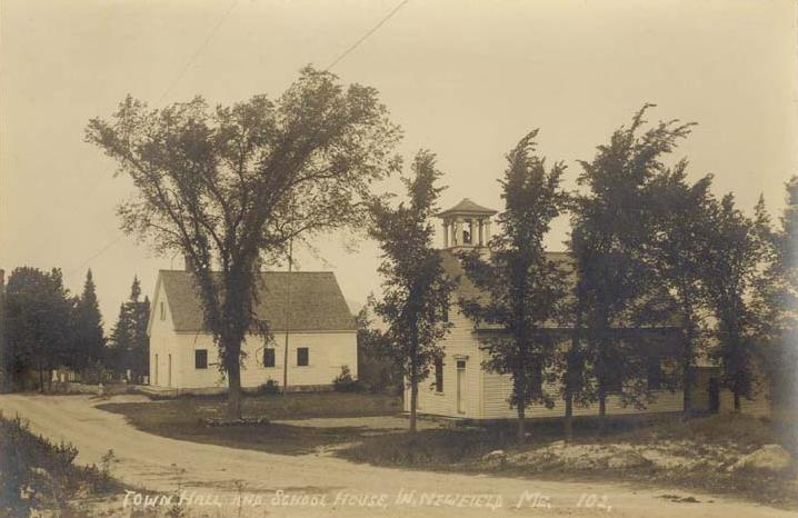 Town Hall and Schoolhouse, West Newfield, ME