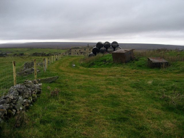 Trail at Greenhow Hill - geograph.org.uk - 1562888