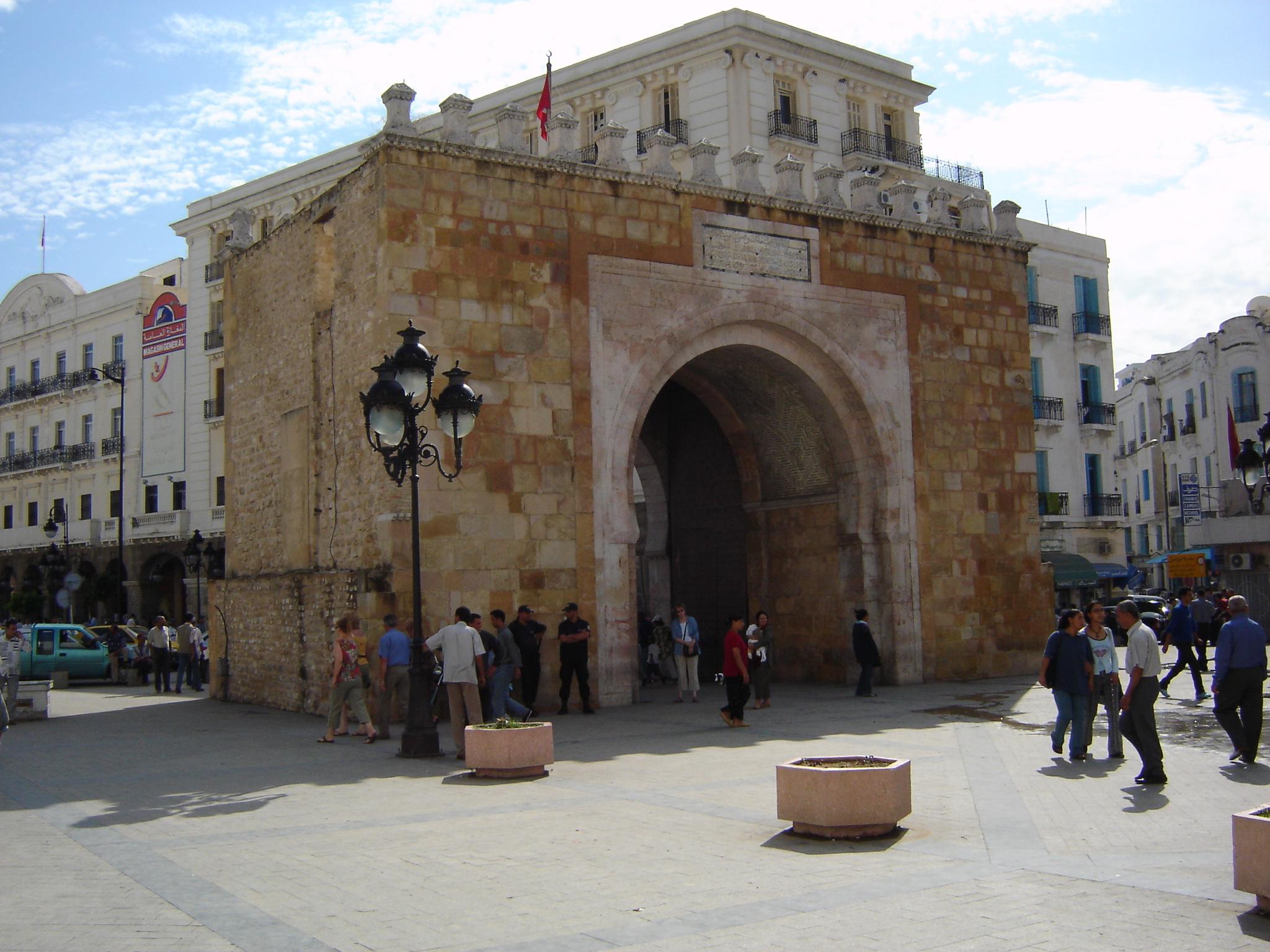 Bab El Bhar gate