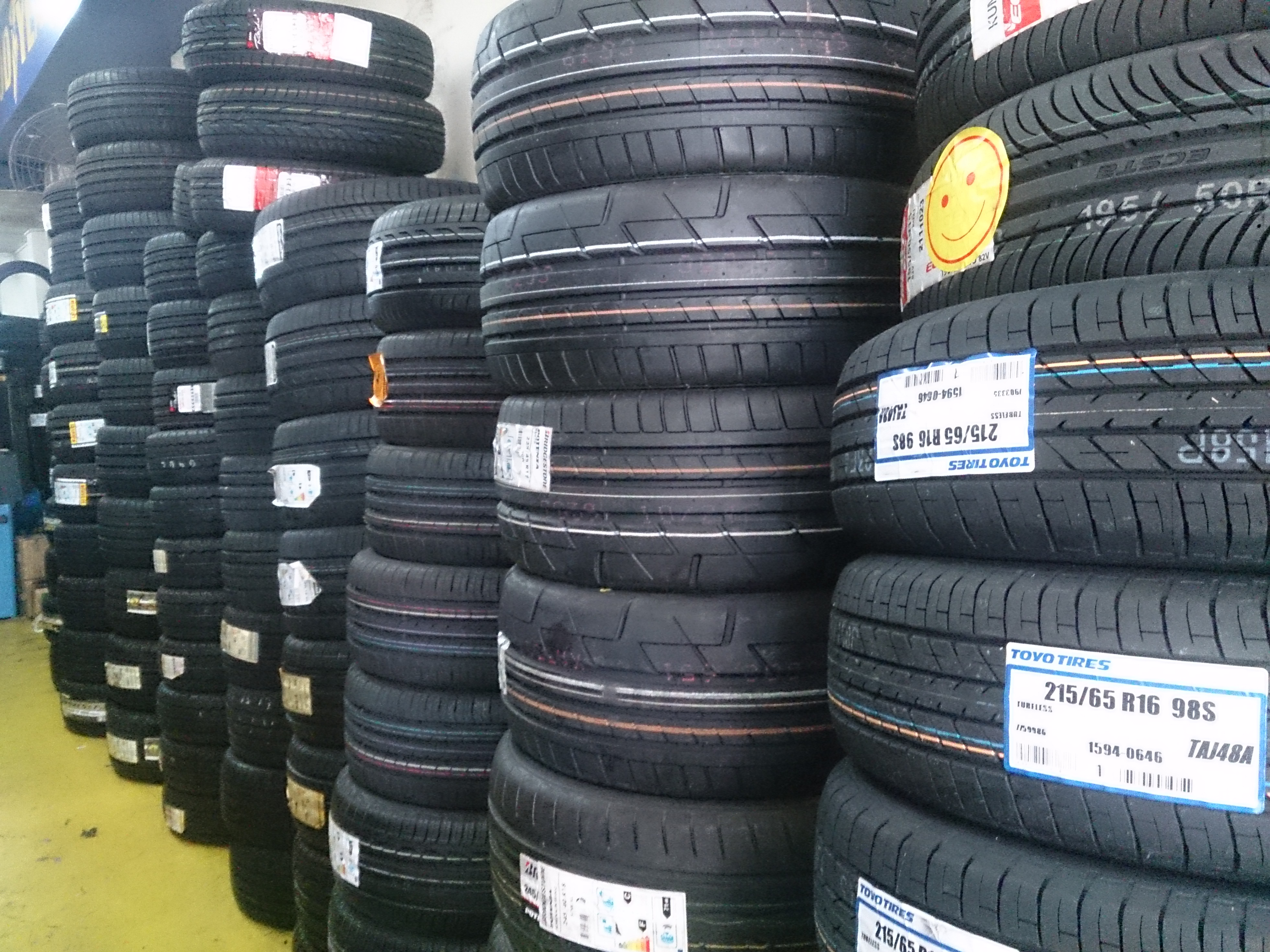 Used Car Tires Wholesale