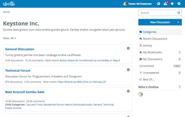 Vanilla Forums — Wikipédia