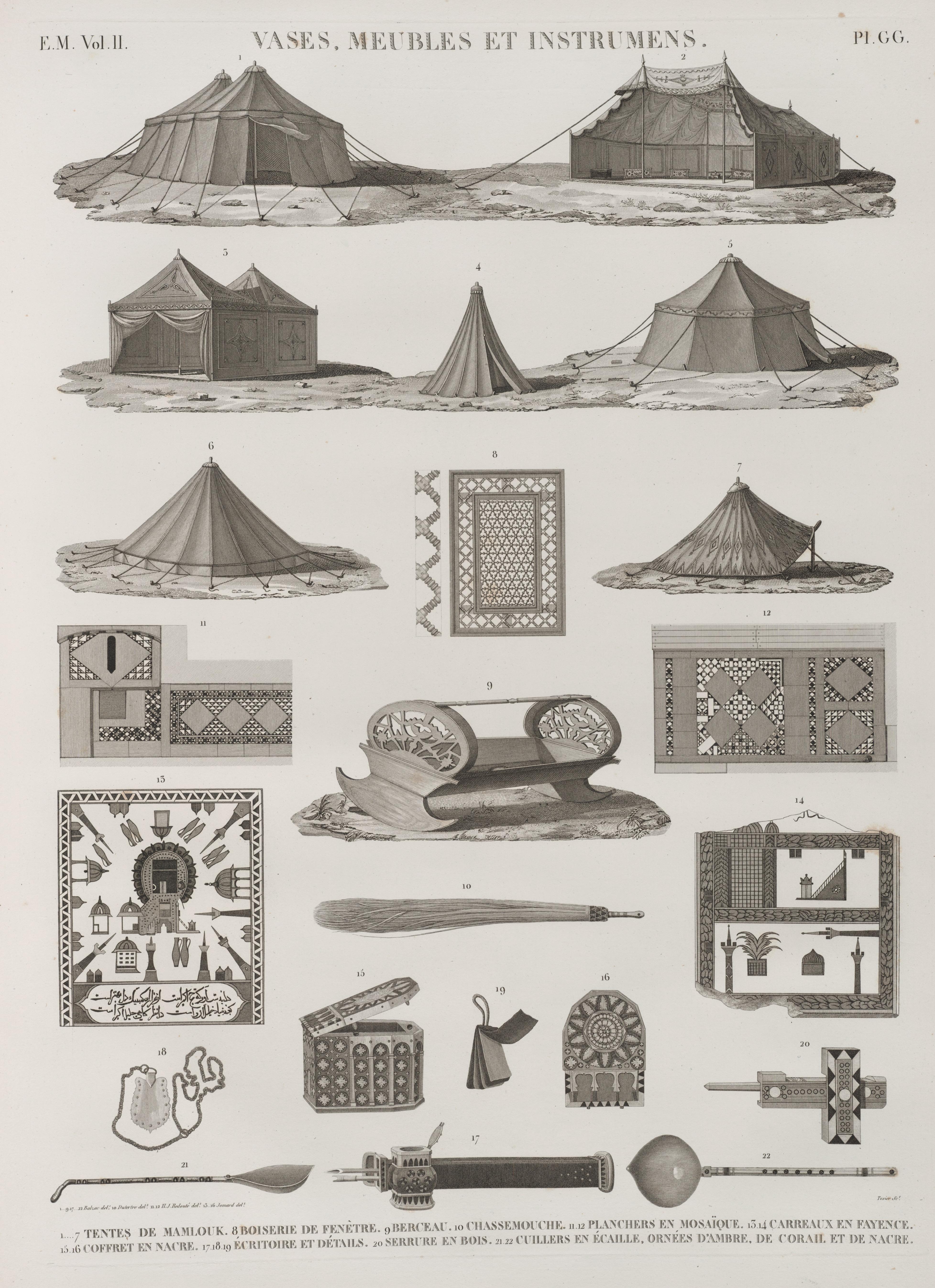 File vases meubles et instrumens 1 7 tentes de mamlouk for Fenetre 6 carreaux