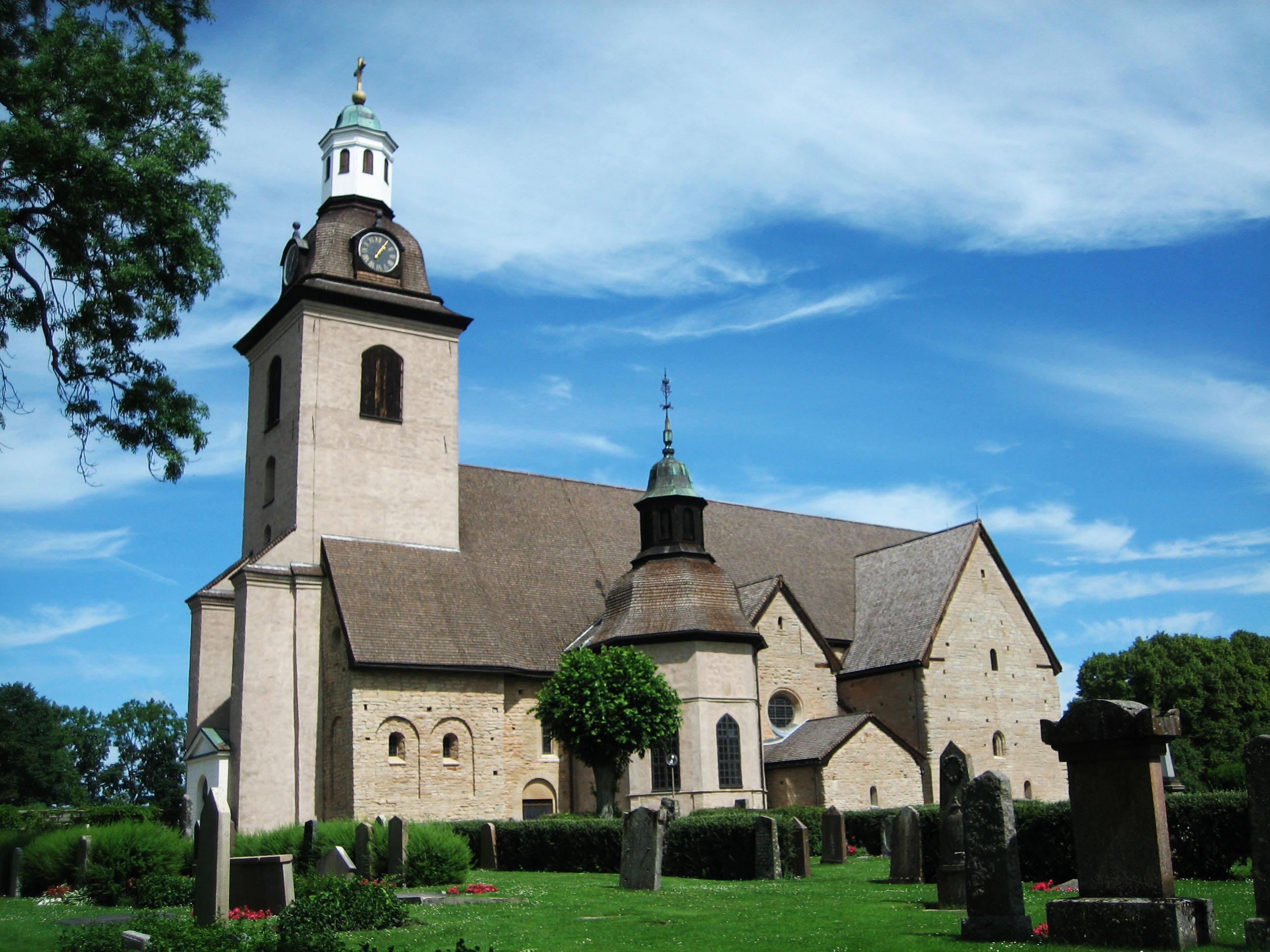 Bild av Vreta klosters kyrka