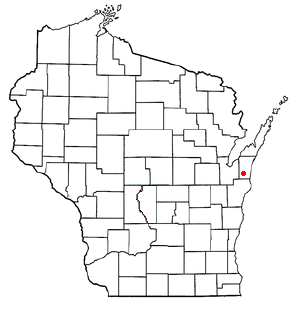 Franklin, Kewaunee County, Wisconsin Town in Wisconsin, United States