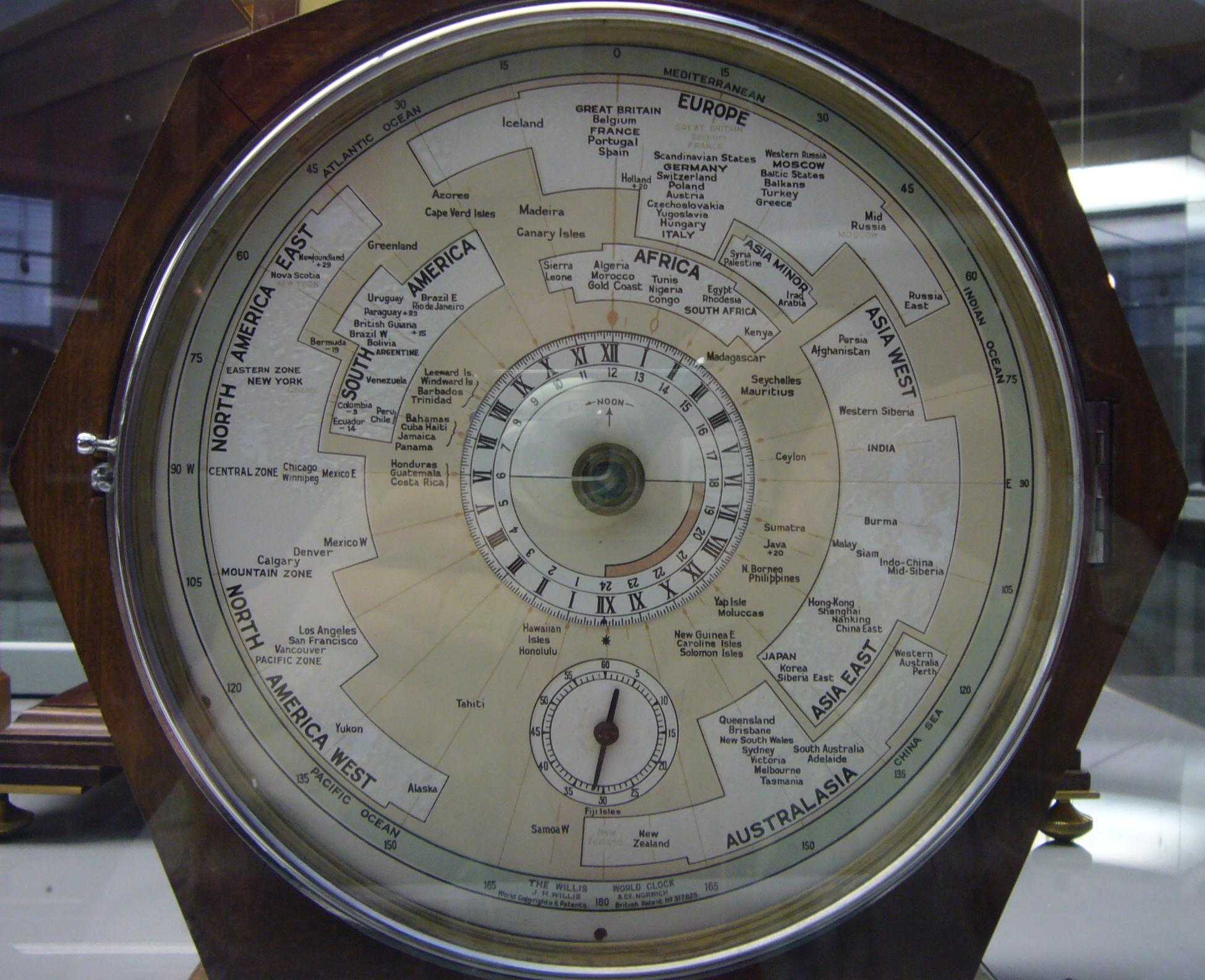 Willis World Clock