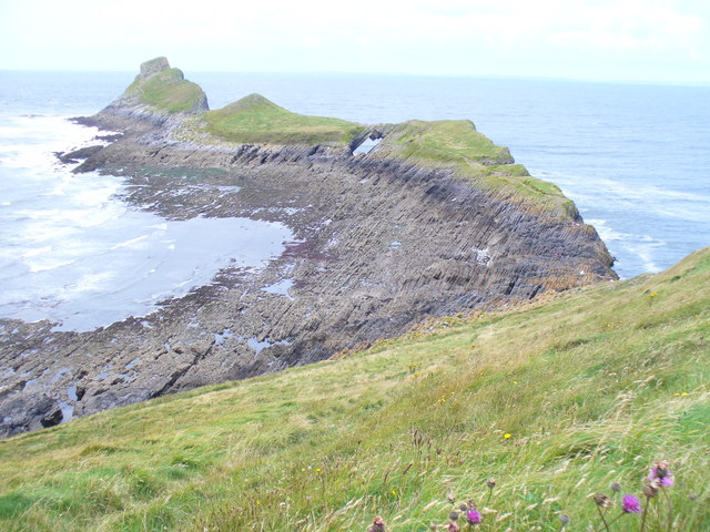 Worm's Head and Devil's Bridge - geograph.org.uk - 1420117