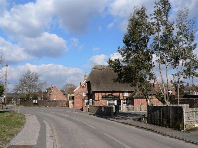 """Carpenters Arms"", Slapton - geograph.org.uk - 131802"