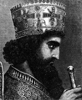 Saosyant y Tonantzin; Jesús y la Virgen - Página 5 %28Persia%29_Jerjes_I