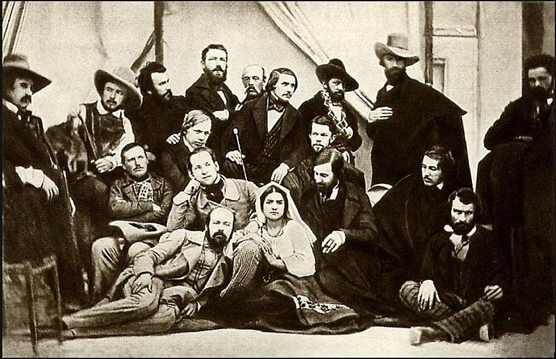 Гоголь среди русских художников в Риме