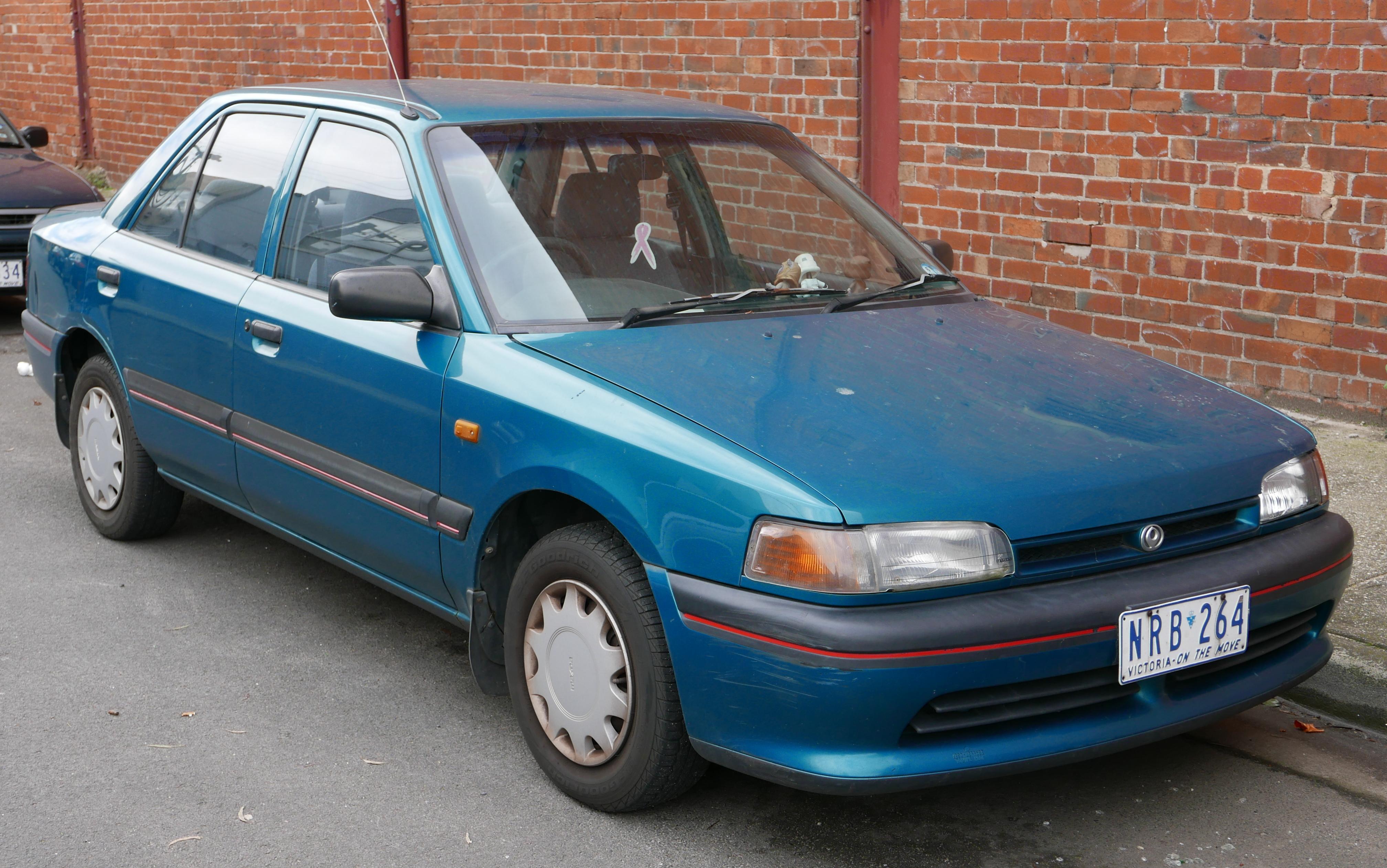 File:1995 Mazda 323 (BG Series 2) 1.6 sedan (2015-07
