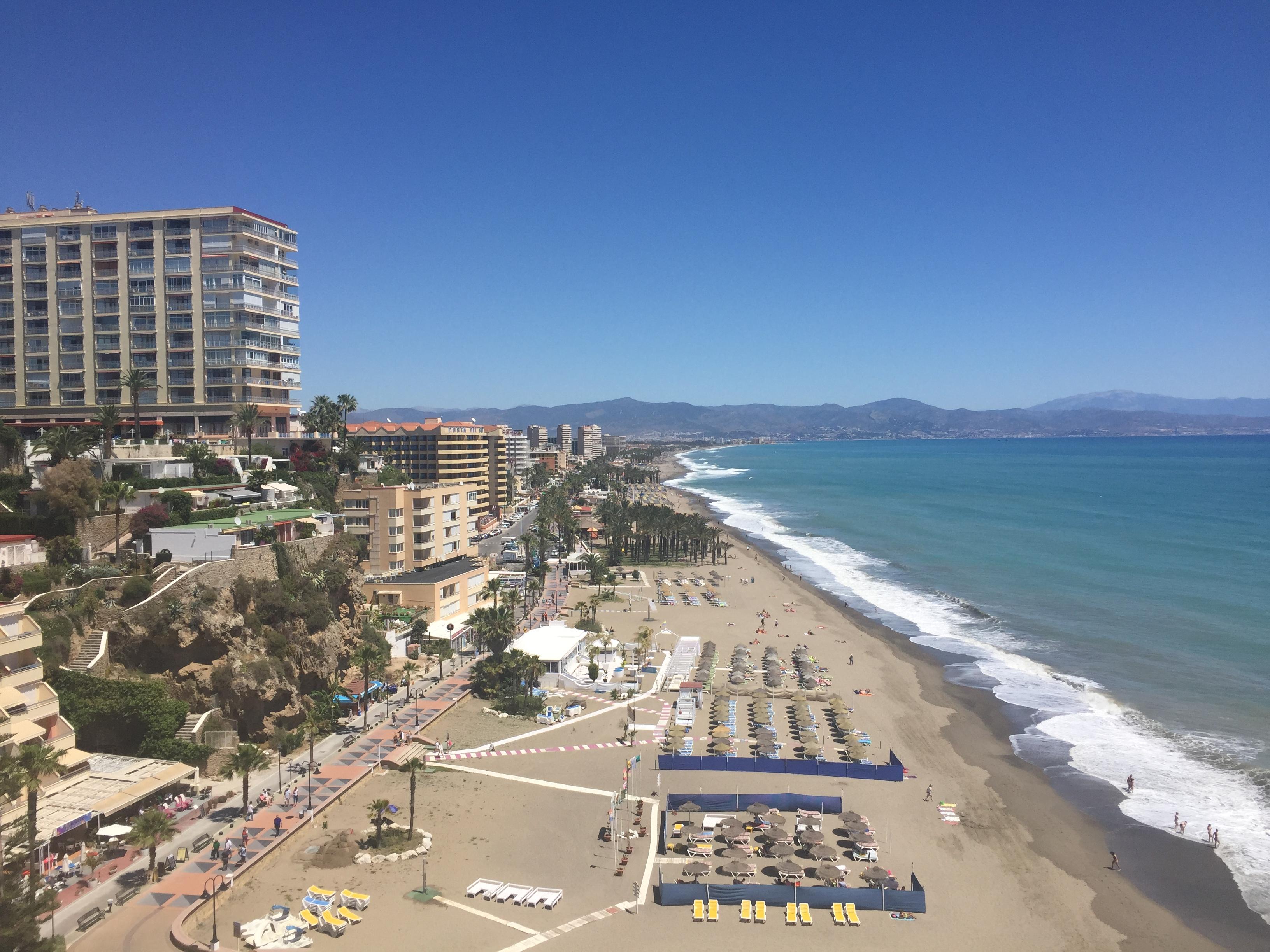 Beaches in Torremolinos