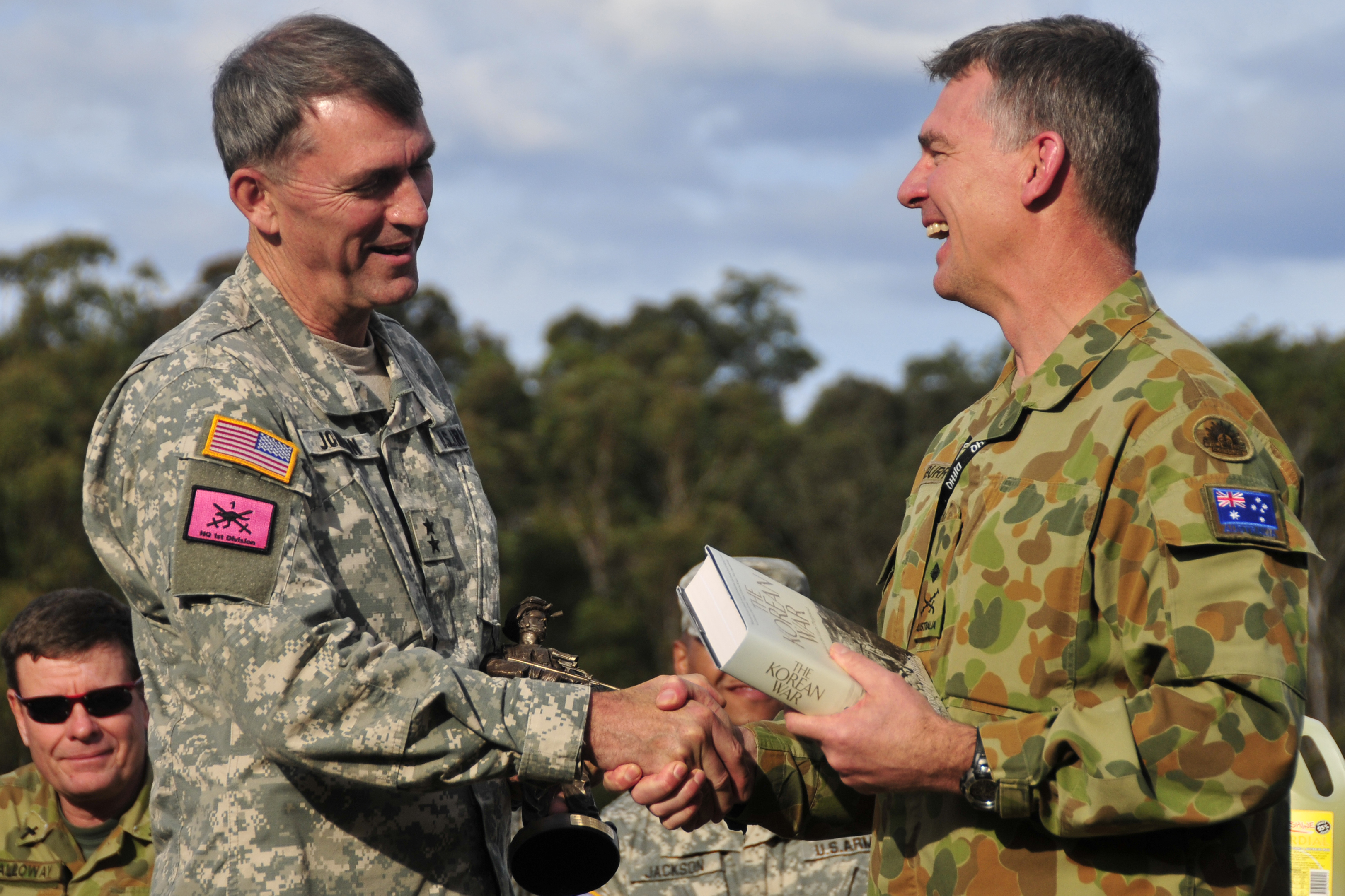 File:40th Infantry Division commander and Australian CFLCC commander exchange gifts 110725-A-9533S-018.jpg