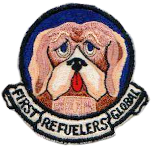 43d Air Refueling Squadron - SAC - Patch