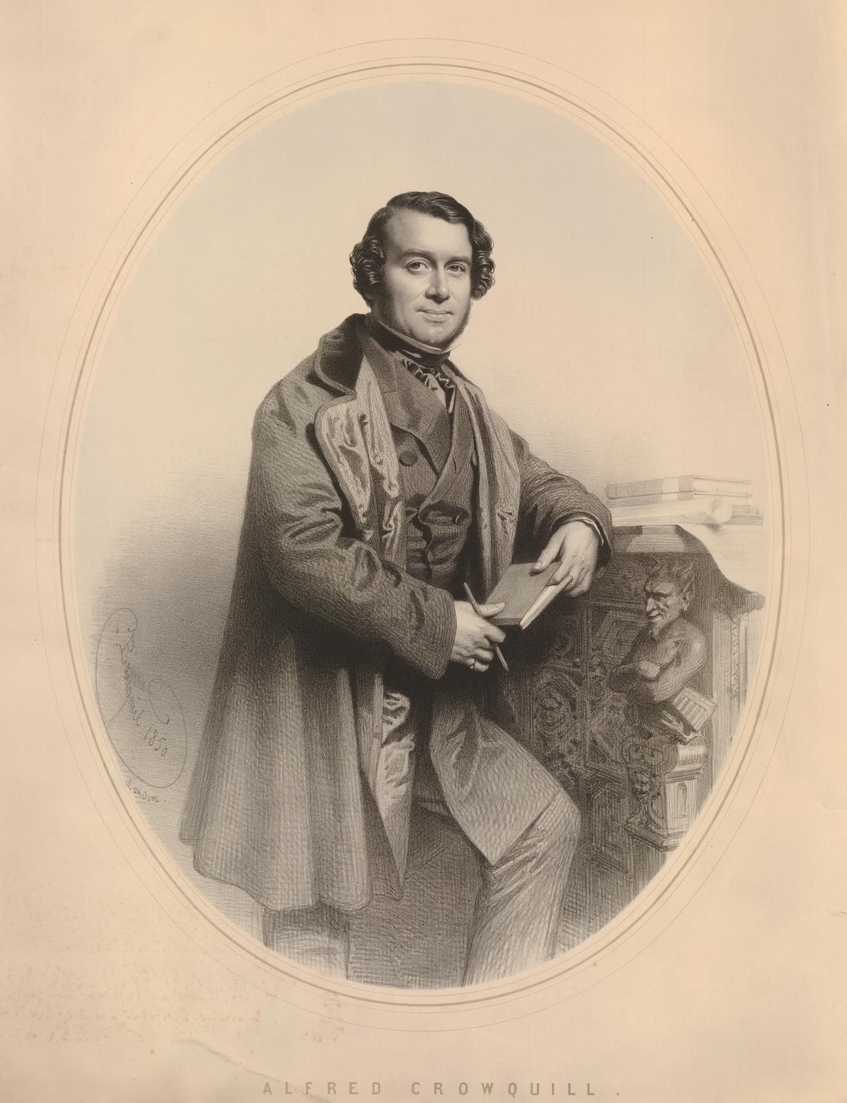 Image of Alfred Crowquill from Wikidata