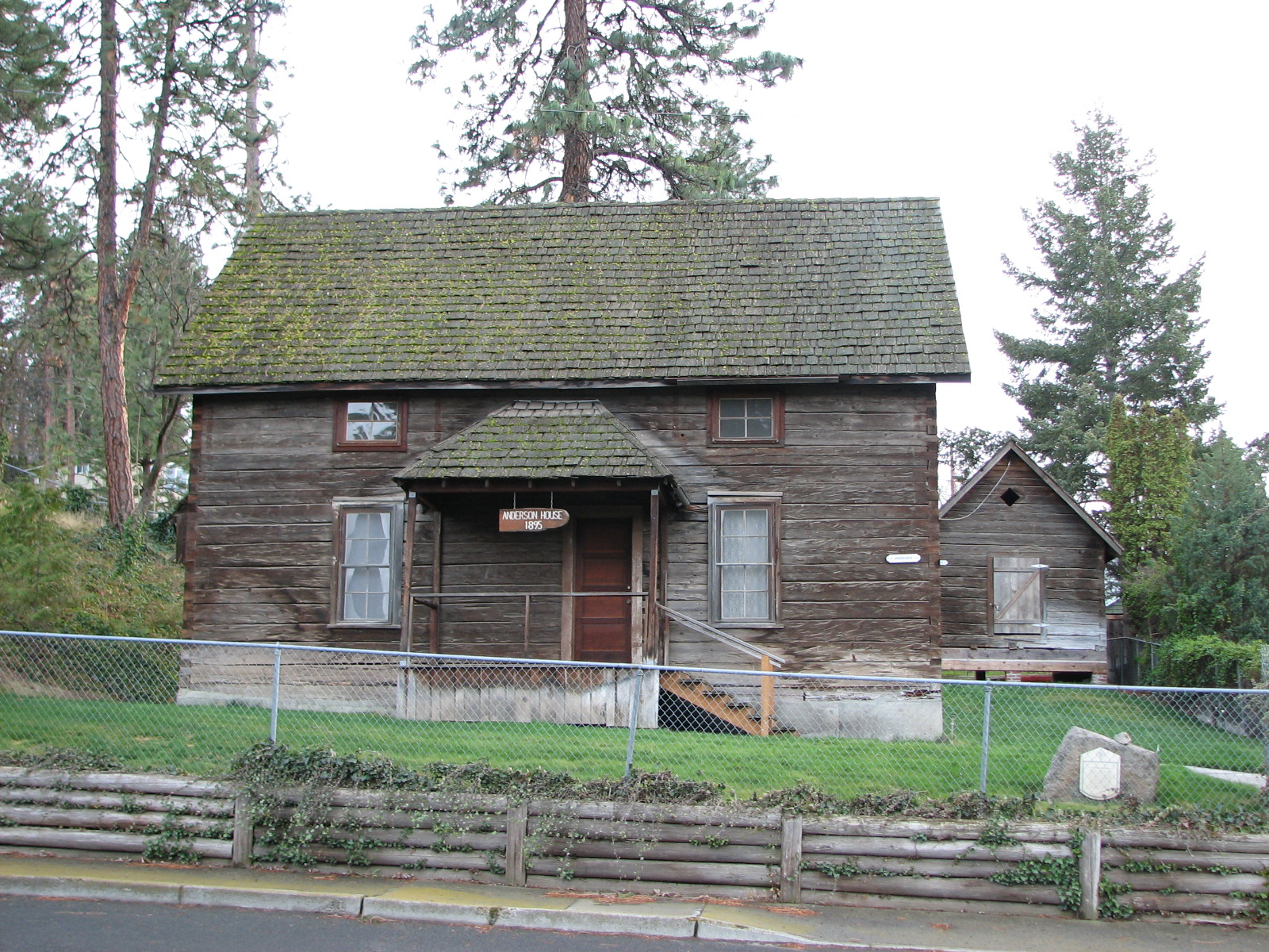 Lewis Anderson House, Barn and Granary