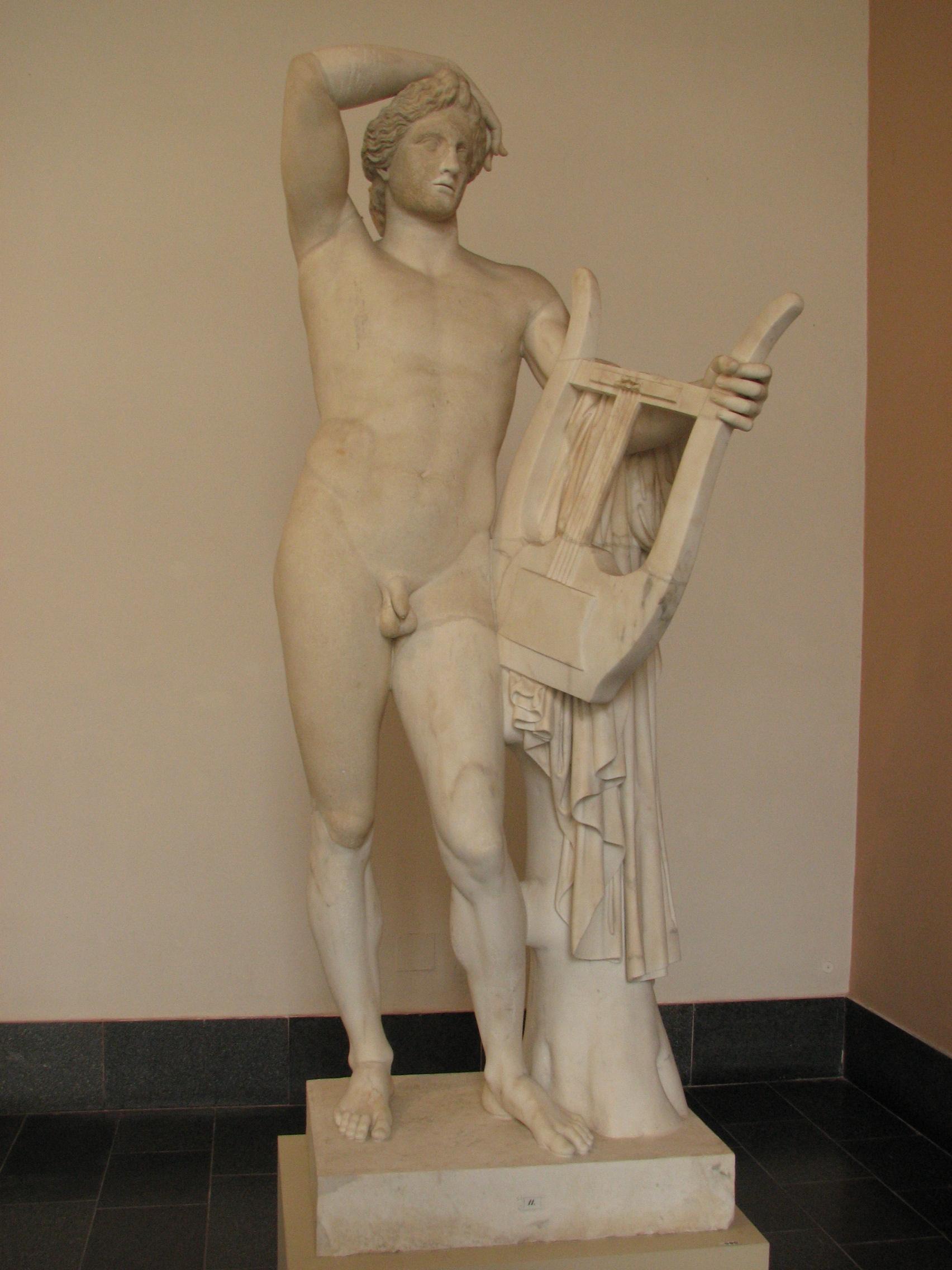 Apollo - Wikipedia  the free Apollos Lyre Symbol