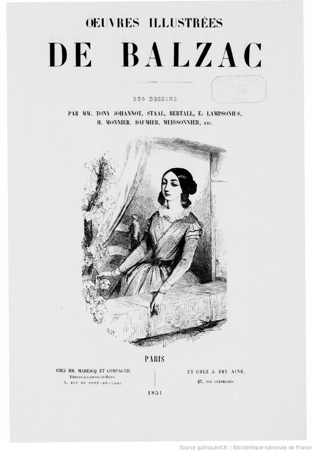 La Comédie humaine de Honoré de Balzac : 93 ouvrages