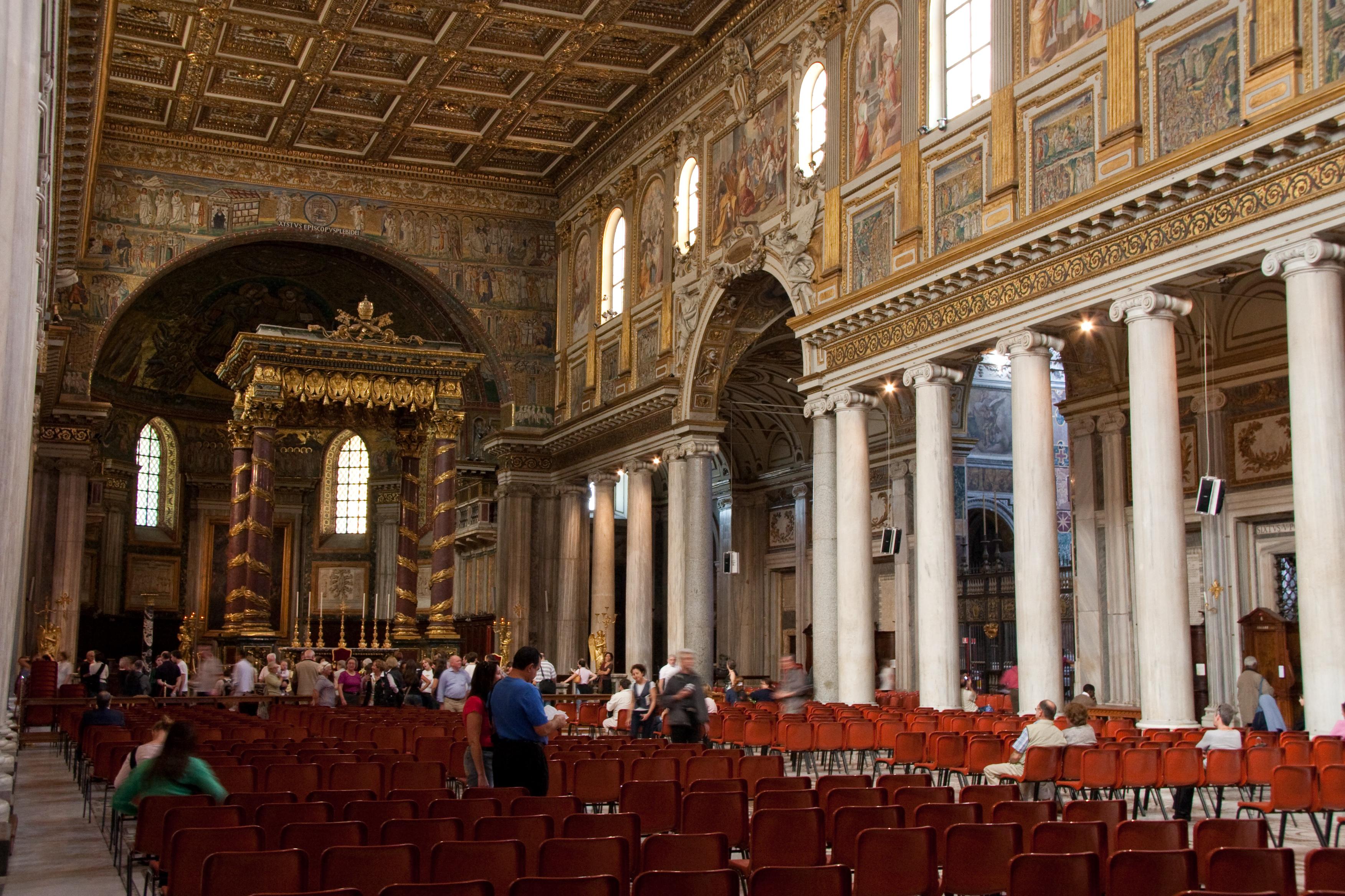 Imagini pentru Basilica sANTA mARIA mAGGIORE