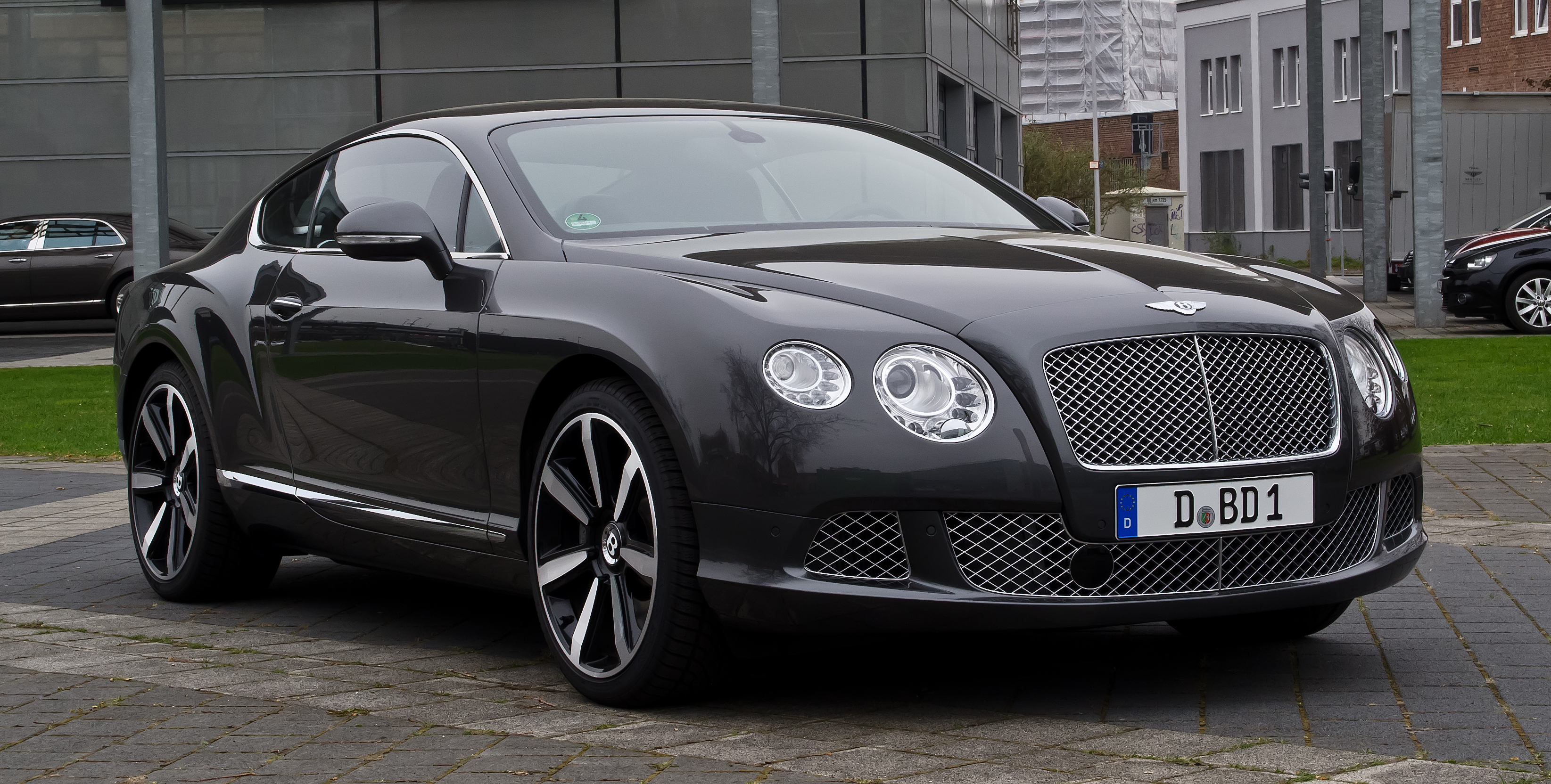 File Bentley Continental Gt Ii Frontansicht 2 5