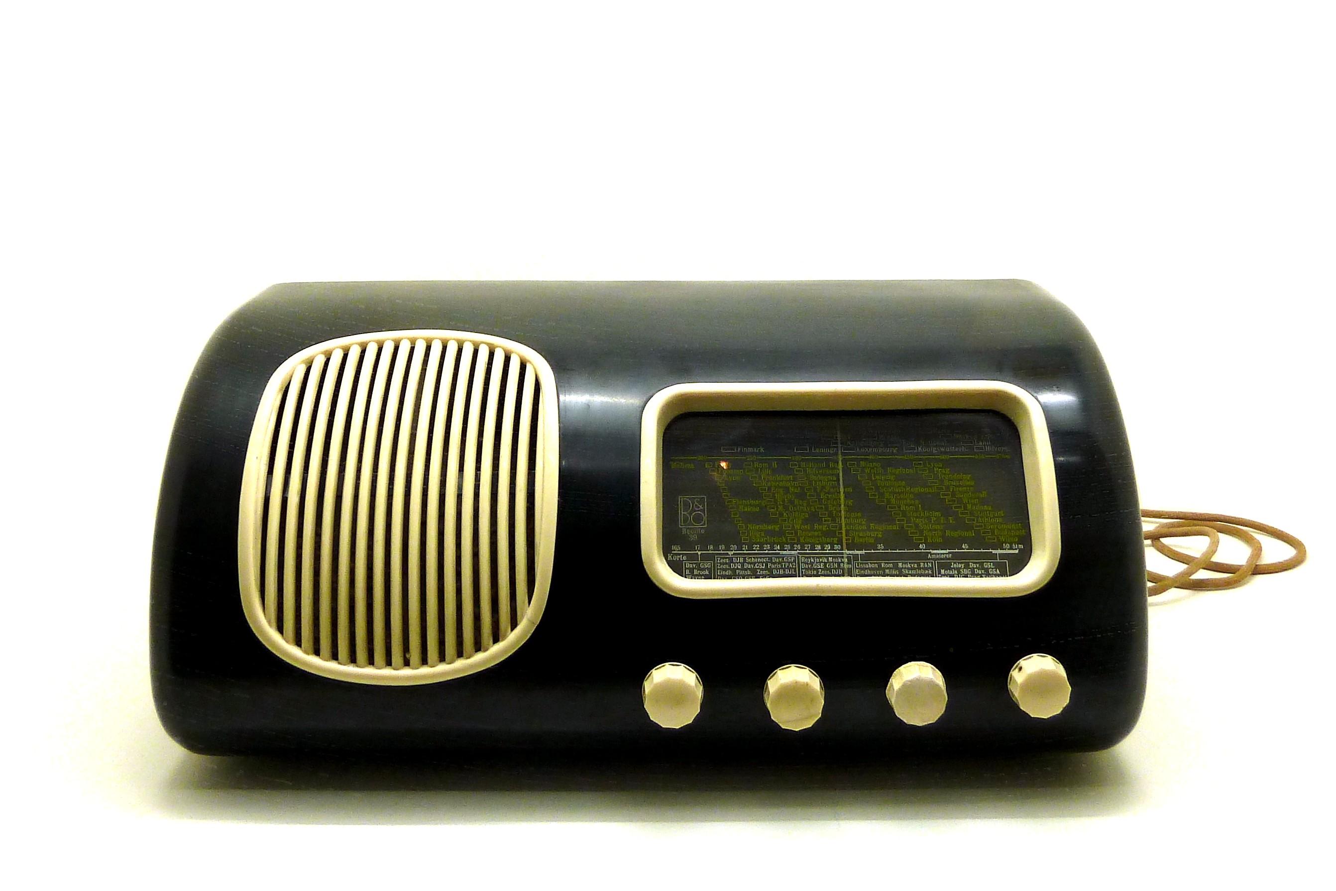 bang and olufsen telephone. beolit 39 from 1938, b\u0026o\u0027s first radio in bakelite bang and olufsen telephone