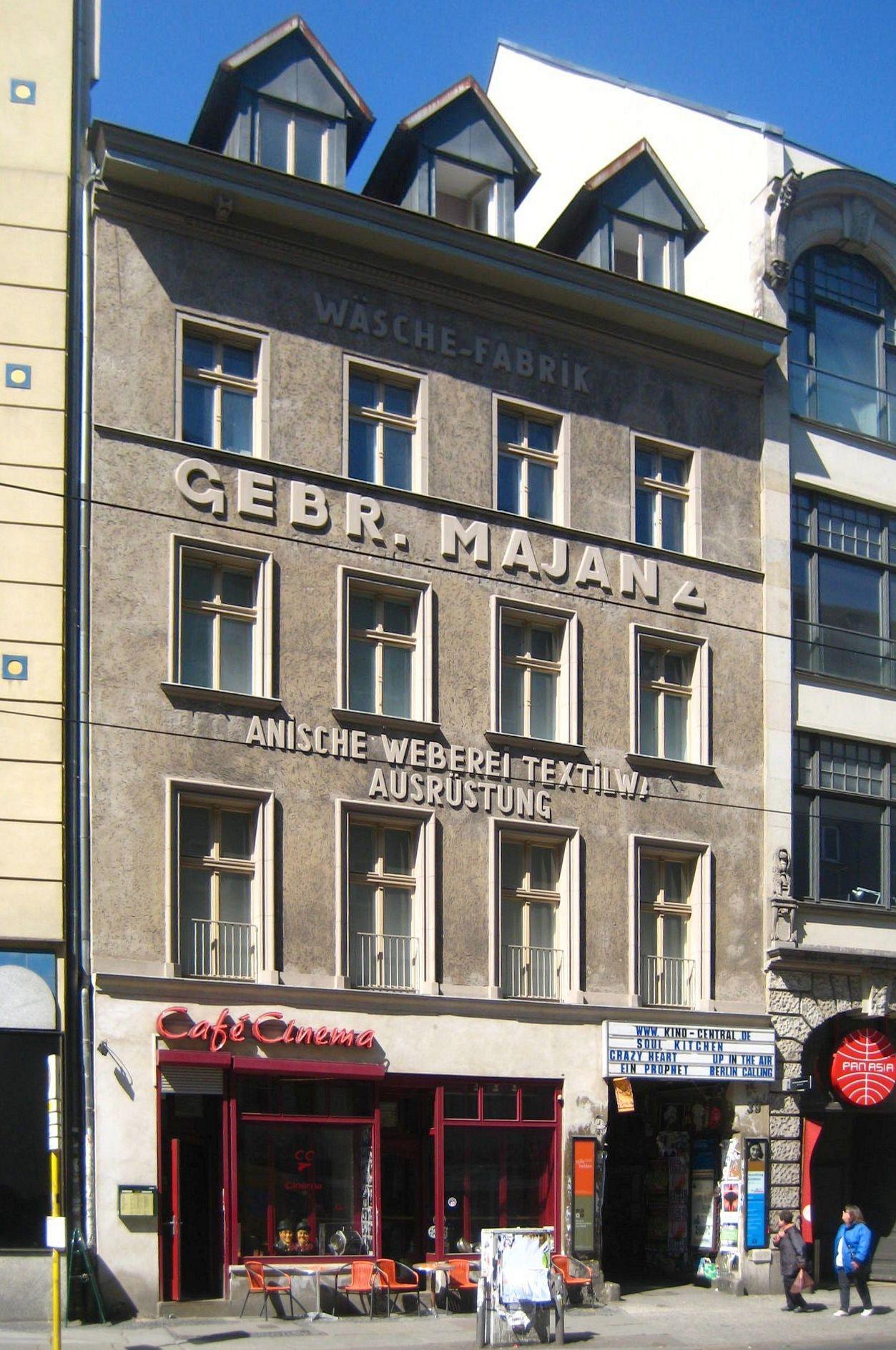 Datei Berlin Mitte Rosenthaler Strasse 39 Haus Schwarzenberg Jpg Wikipedia