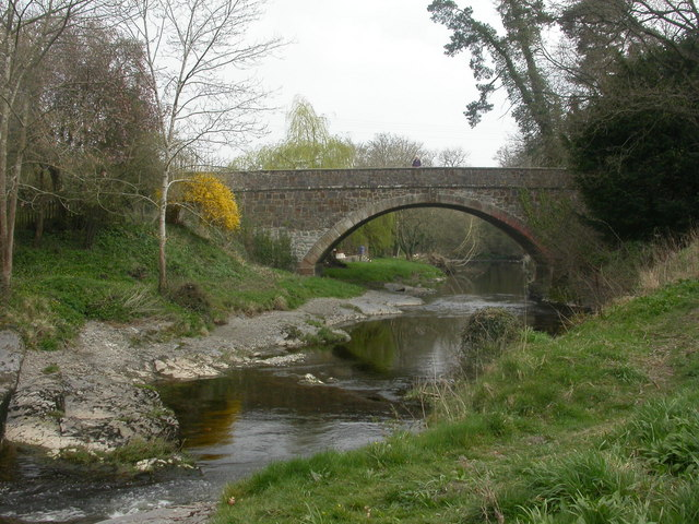 Berriew Bridge - geograph.org.uk - 1243806