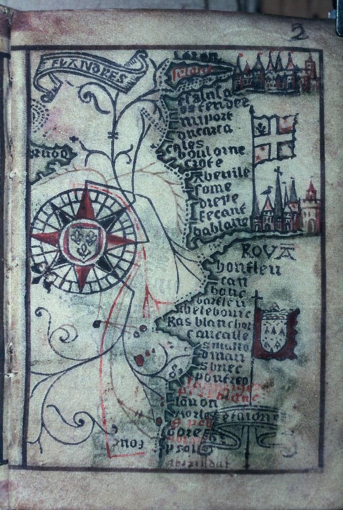 Map Of Northern France Coastline.File Bodleian Libraries Map Of The North Coast Of France Jpg