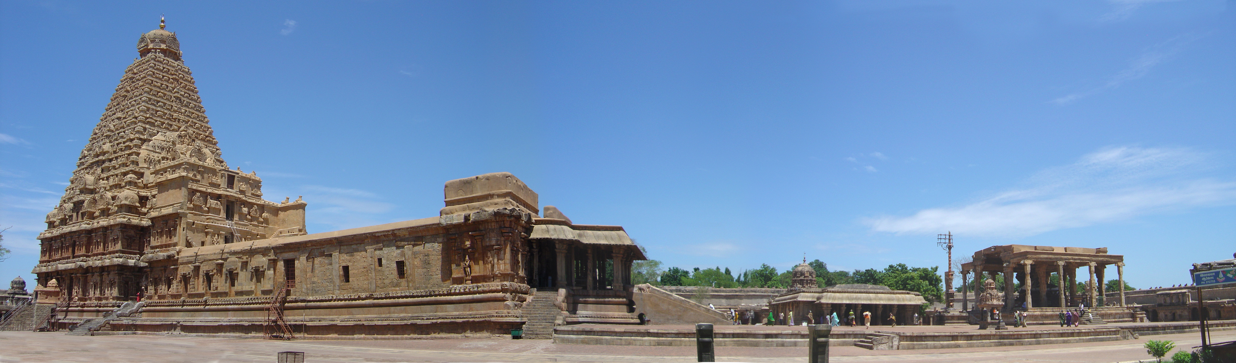 Panorama of the temple