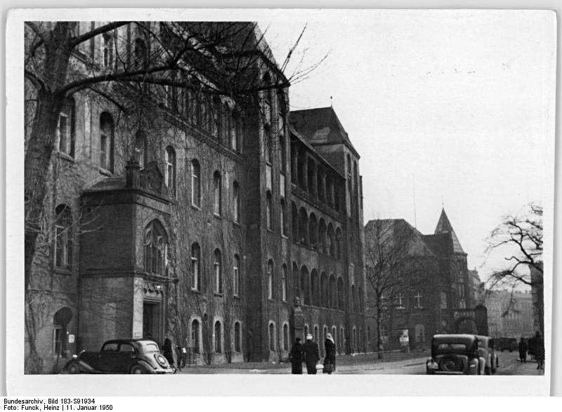 ältestes Krankenhaus Von Berlin