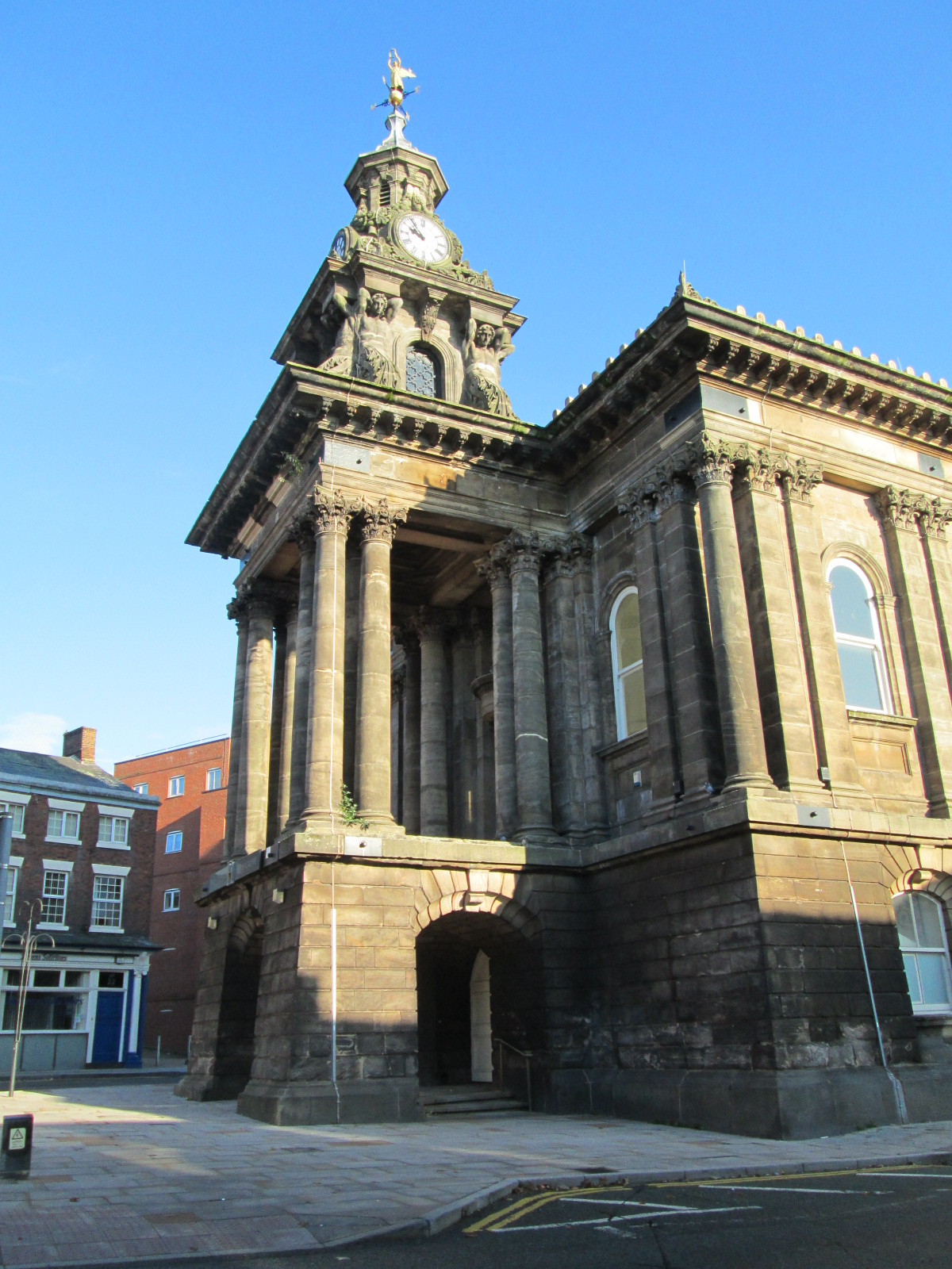 Old Town Hall Burslem Wikipedia