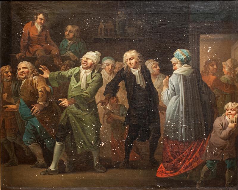 Julestuen, 13. scene