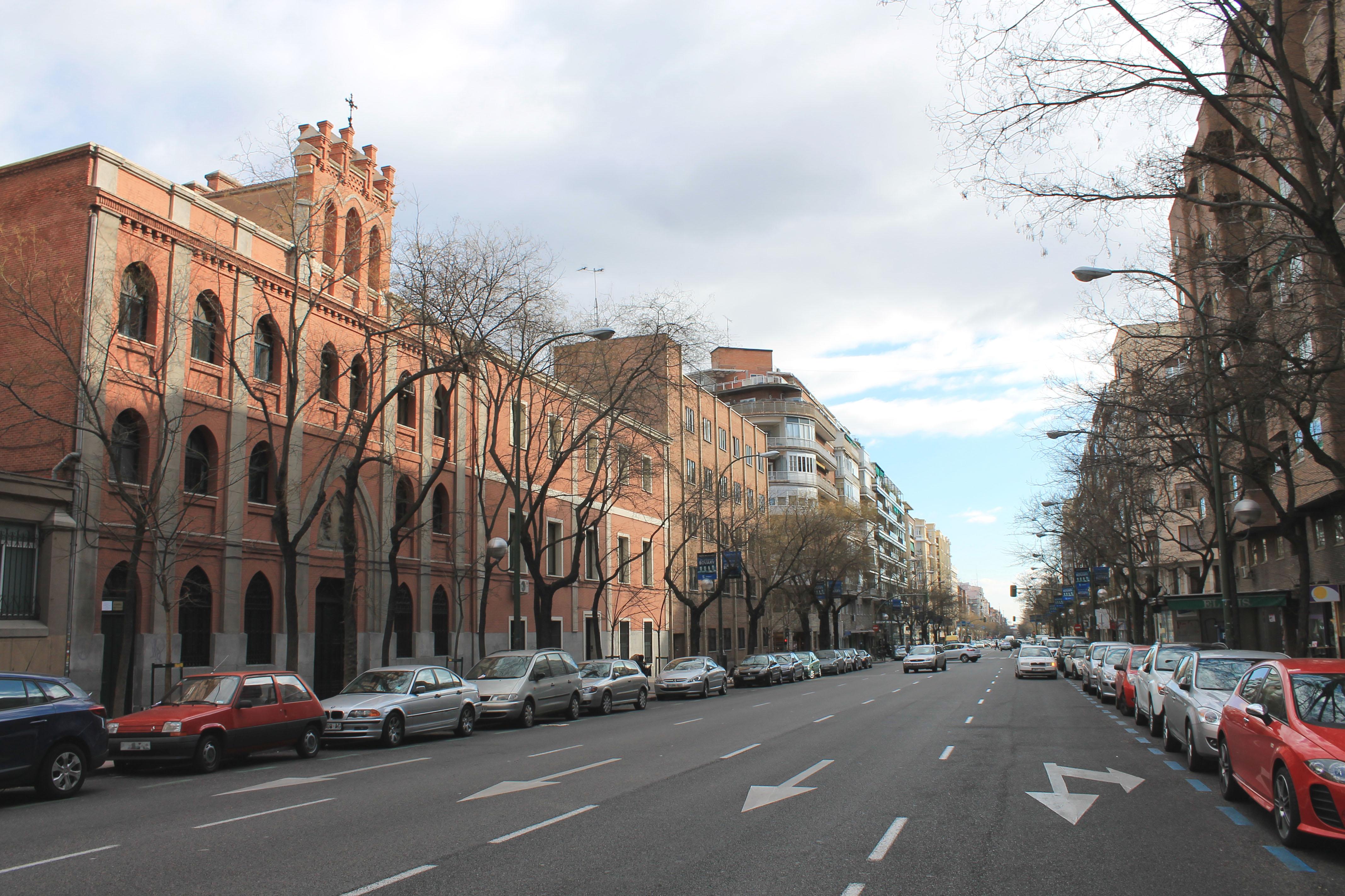 Calle De Santa Engracia Wikipedia La Enciclopedia Libre