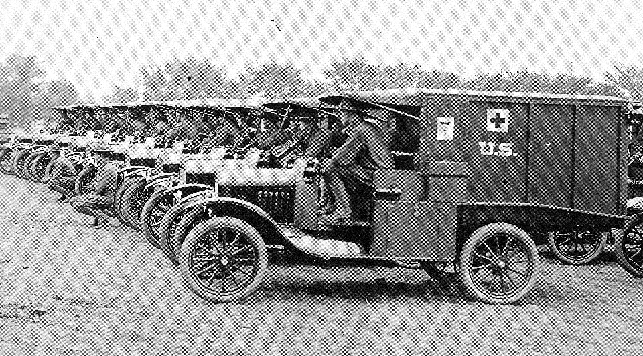Image result for world war 1 ambulance drivers