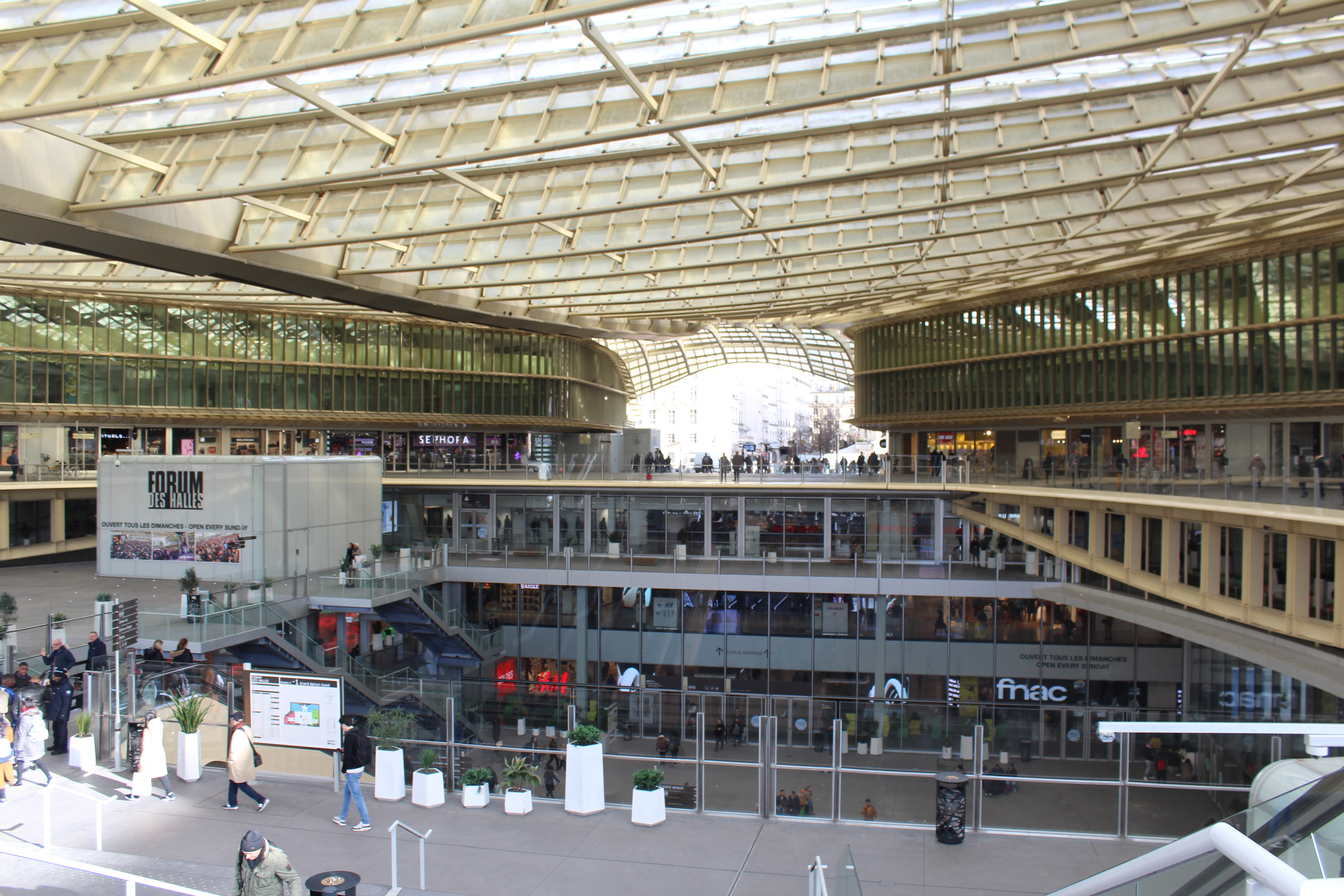File Canopee Forum Halles Paris 1 Jpg Wikimedia Commons