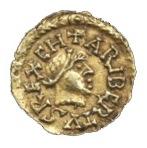 File:Caribert II tiers de sou d'or (trémissis)-2.jpg