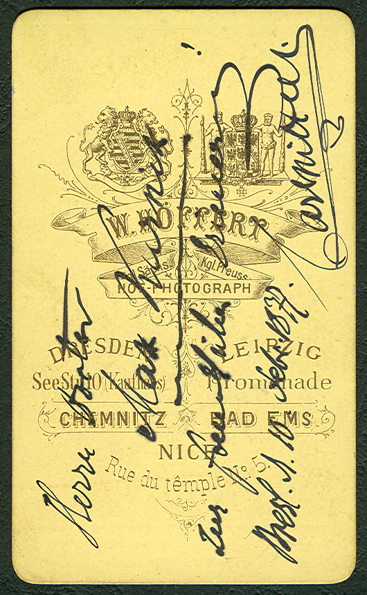 DateiCarl Mittell 1877 Foto Hoffert Carte De Visite Ruckseite