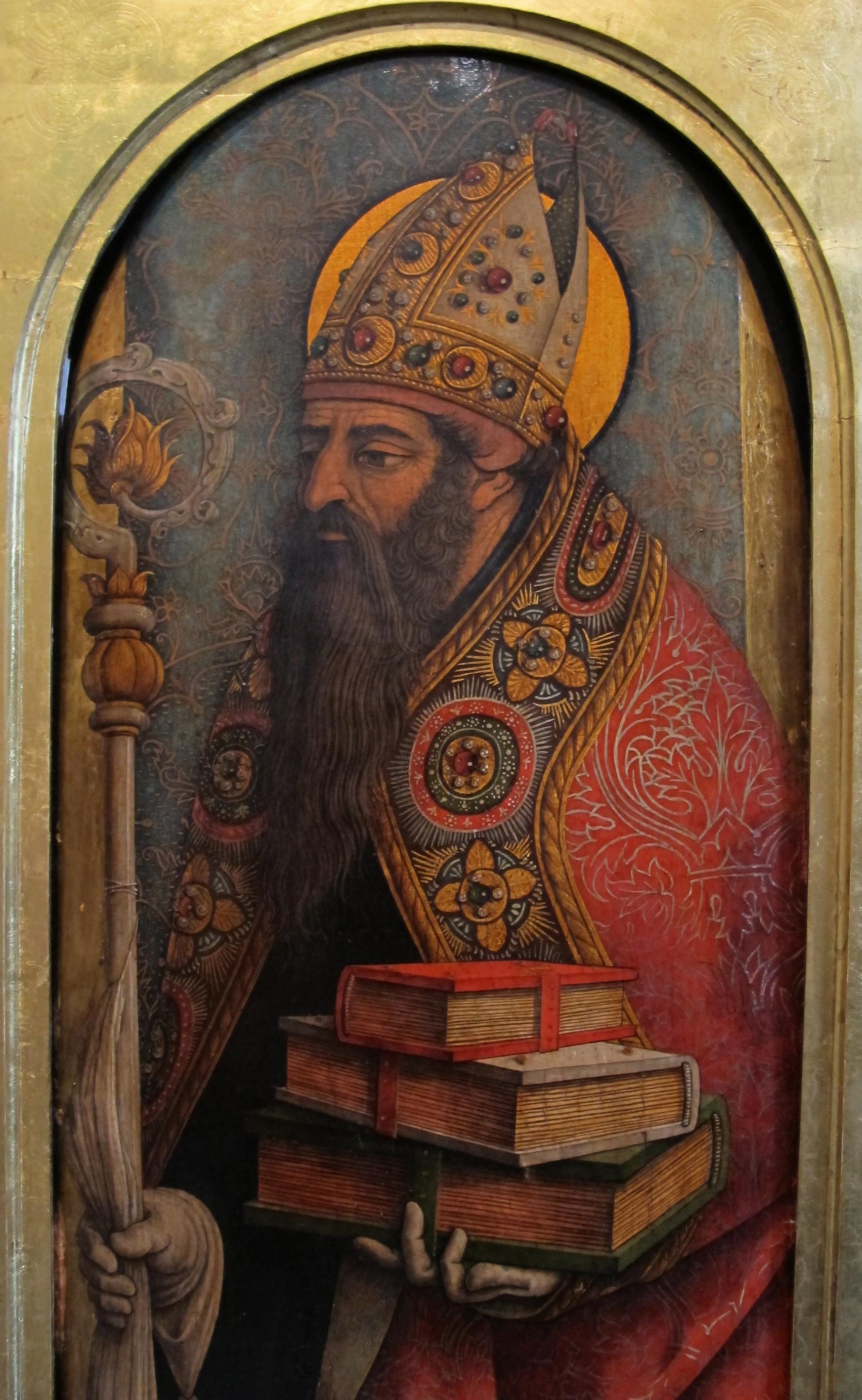 File:Carlo crivelli, sant'agostino, 1487-88 ca. 02.