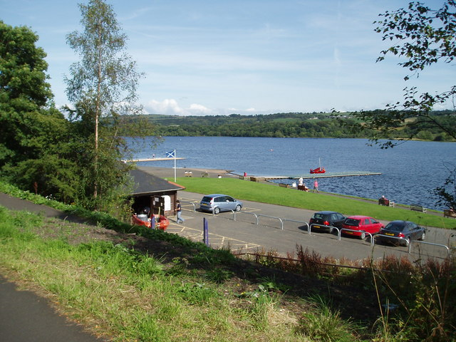 Castle Semple Loch from Cycle track - geograph.org.uk - 1430829