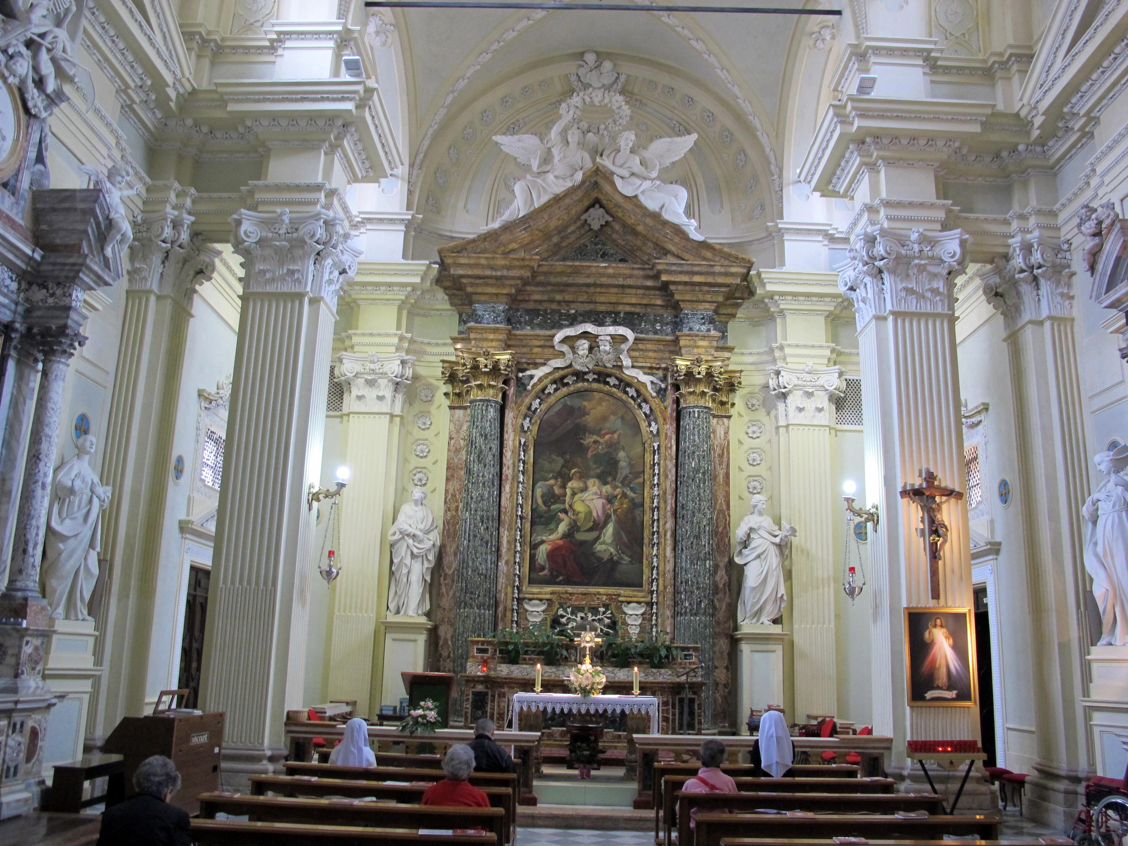 File Cesena Chiesa Del Suffragio Interno 01 Jpg Wikipedia
