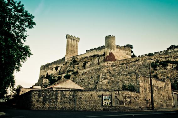 Château de Beaucaire (Gard) vue côté Nord.jpg