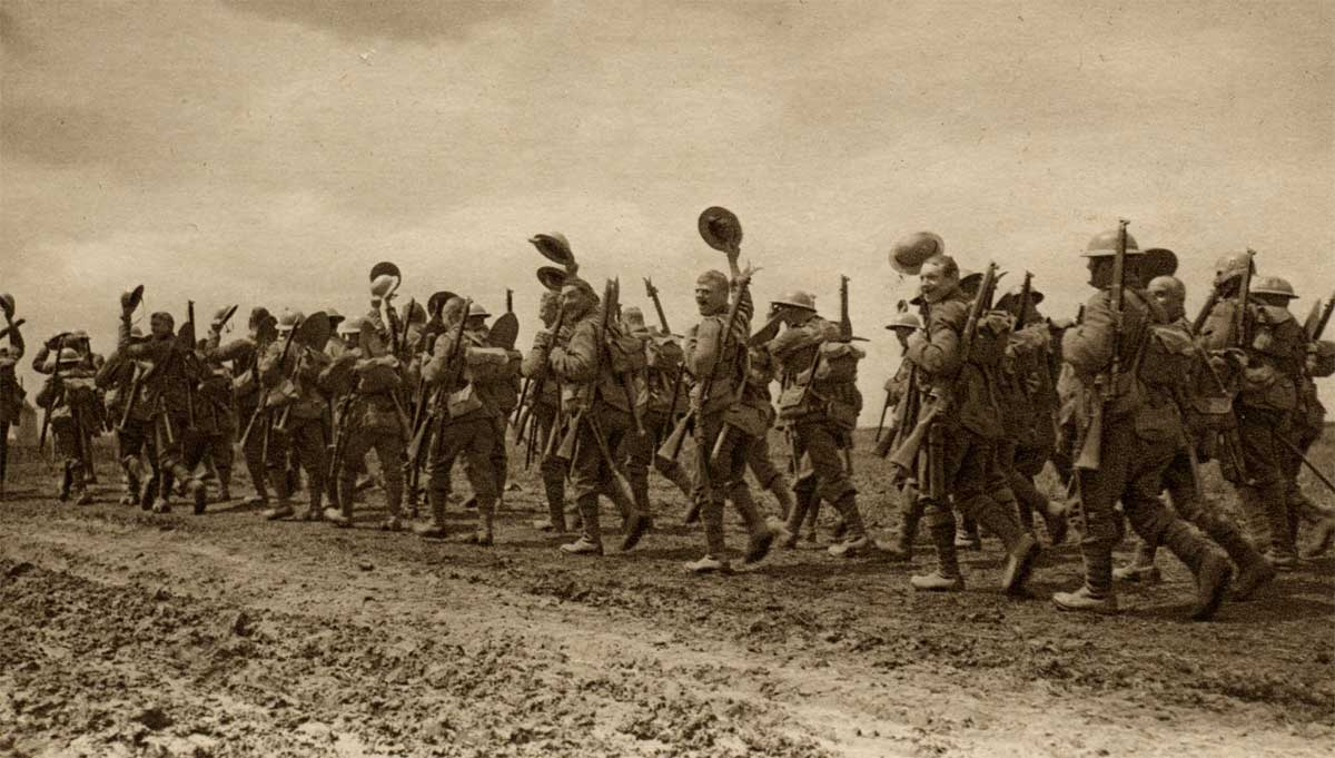 an analysis of the armys in world war i This gallery provides a series of snapshots illustrating the way in which the first world war unfolded at home and abroad, and on land, in the air and over water.