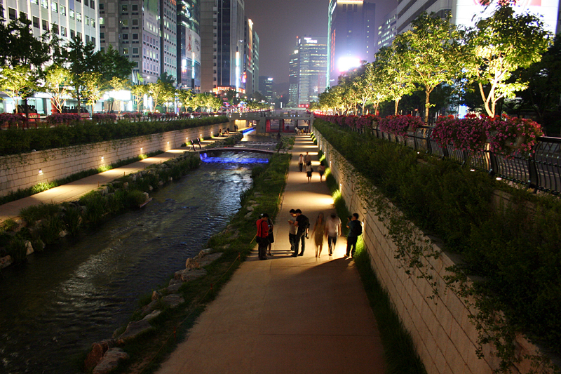 Cheonggyecheon an night 2